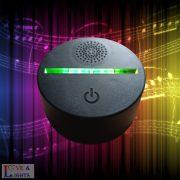 Bluetooth-os hangszóró lámpatest