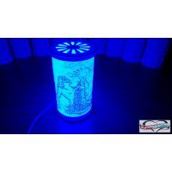 Vízöntő mintás lámpa