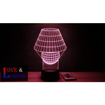 Lámpa alakú illúzió lámpa