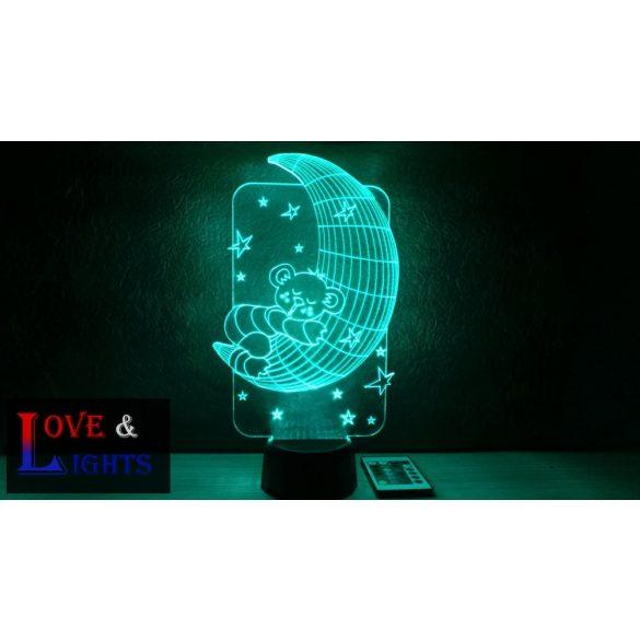 Maci holdacskán illúzió lámpa