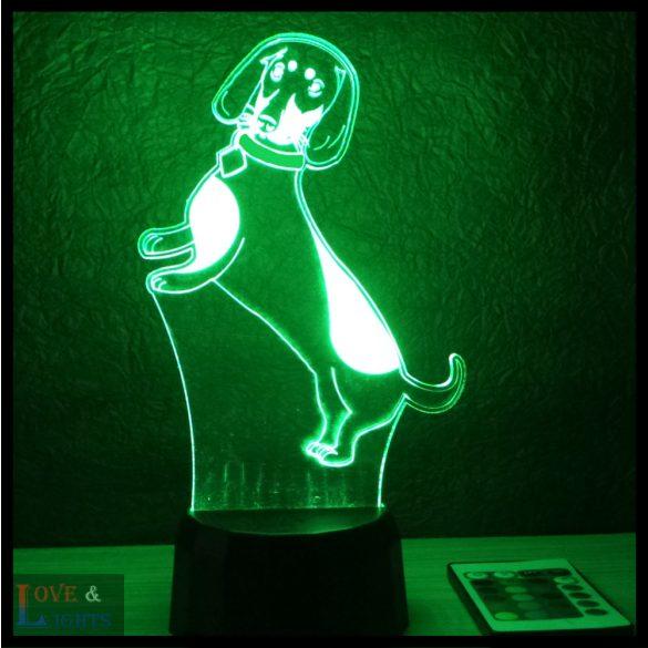 Tacskó mintás lámpa