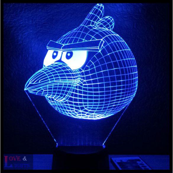 Madár mintás illúzió lámpa