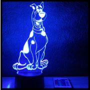 Dán dog mintás lámpa