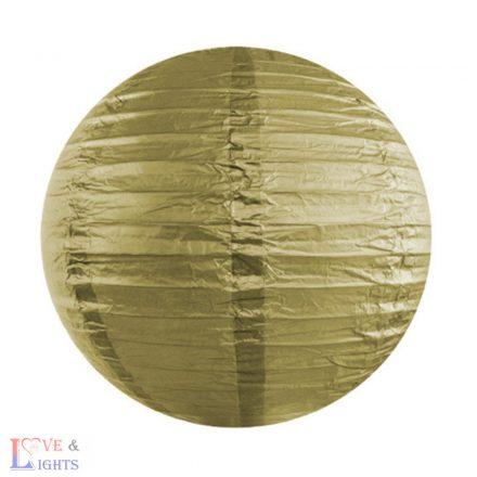 Arany papír lampion 35 cm