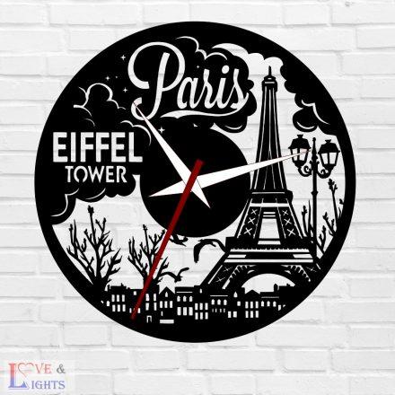 Párizs - Eiffel Tower mintás óra
