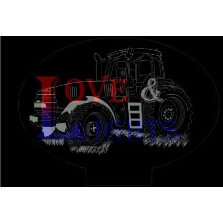 Traktor mintás illúzió lámpa - előrendelhető