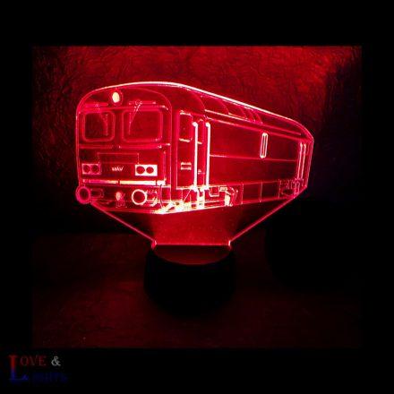 Vonat mintás illúzió lámpa