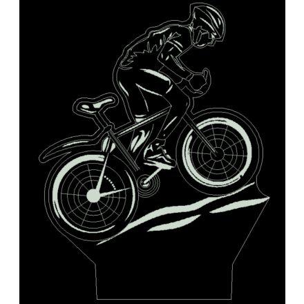 Montainbike biciklis mintás illúzió lámpa - előrendelhető