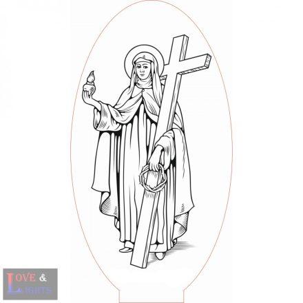 Szent Mária Magdolna mintás illúzió lámpa