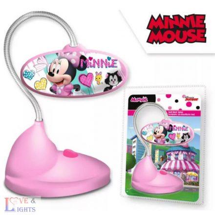 Minnie egér mintás asztali LED lámpa