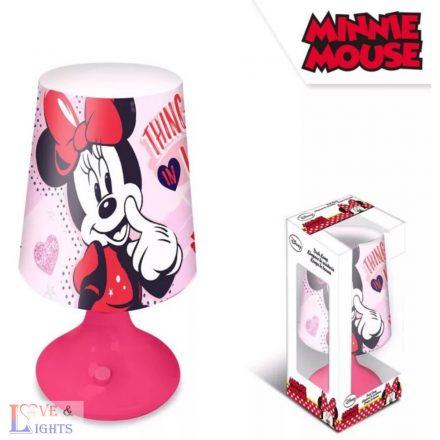 Minnie egér mintás asztali lámpa