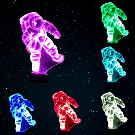 Asztronauta / Űrhajós mintás  éjjeli fény