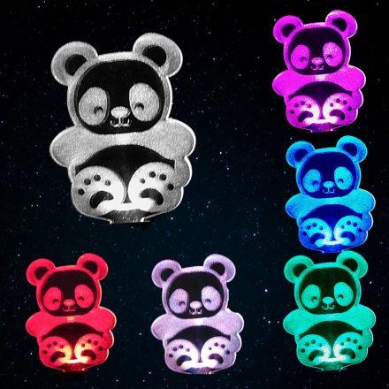 Panda mintás éjjeli fény