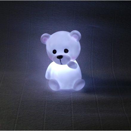 Világító mini mackó - éjjeli fény