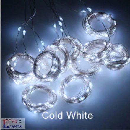 LED-es háttérfüggöny 3x3 m - hideg fehér