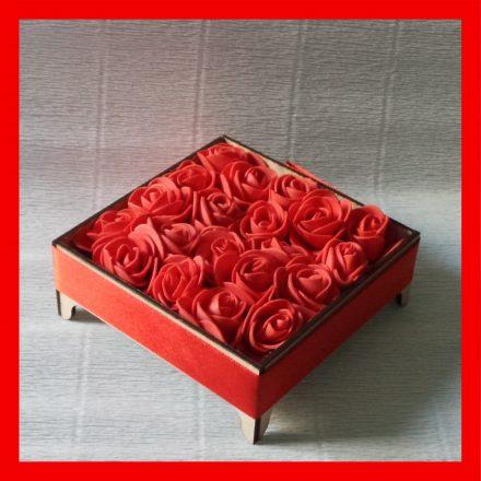 Örök rózsa box
