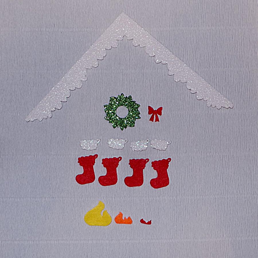 Karácsonyi kalendárium - csináld magad készlet