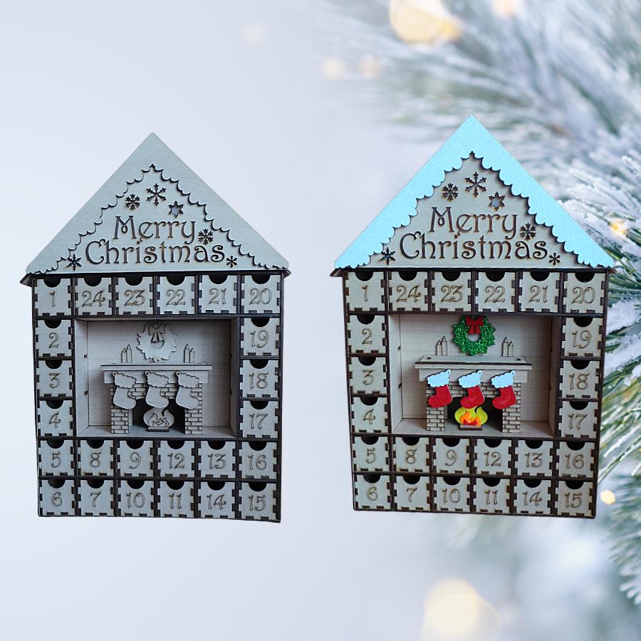 Karácsonyi adventi kalendárium - csináld magad dekoráció - love and lights